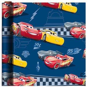 Lightning McQueen & Cruz Ramirez Gift Wrap Cars 3
